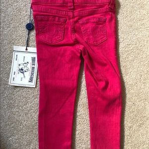 true Religion pink starlet leggings